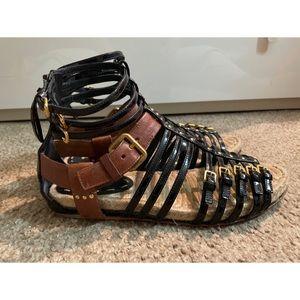 Miu Miu gladiator thong sandals